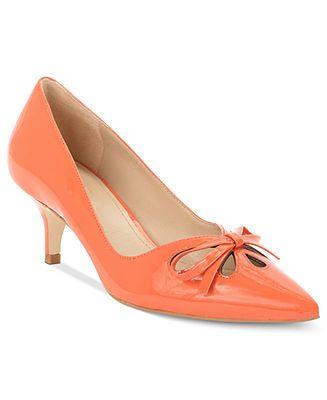 Joan & David Shoes, Gardener Kitten Heel Pumps