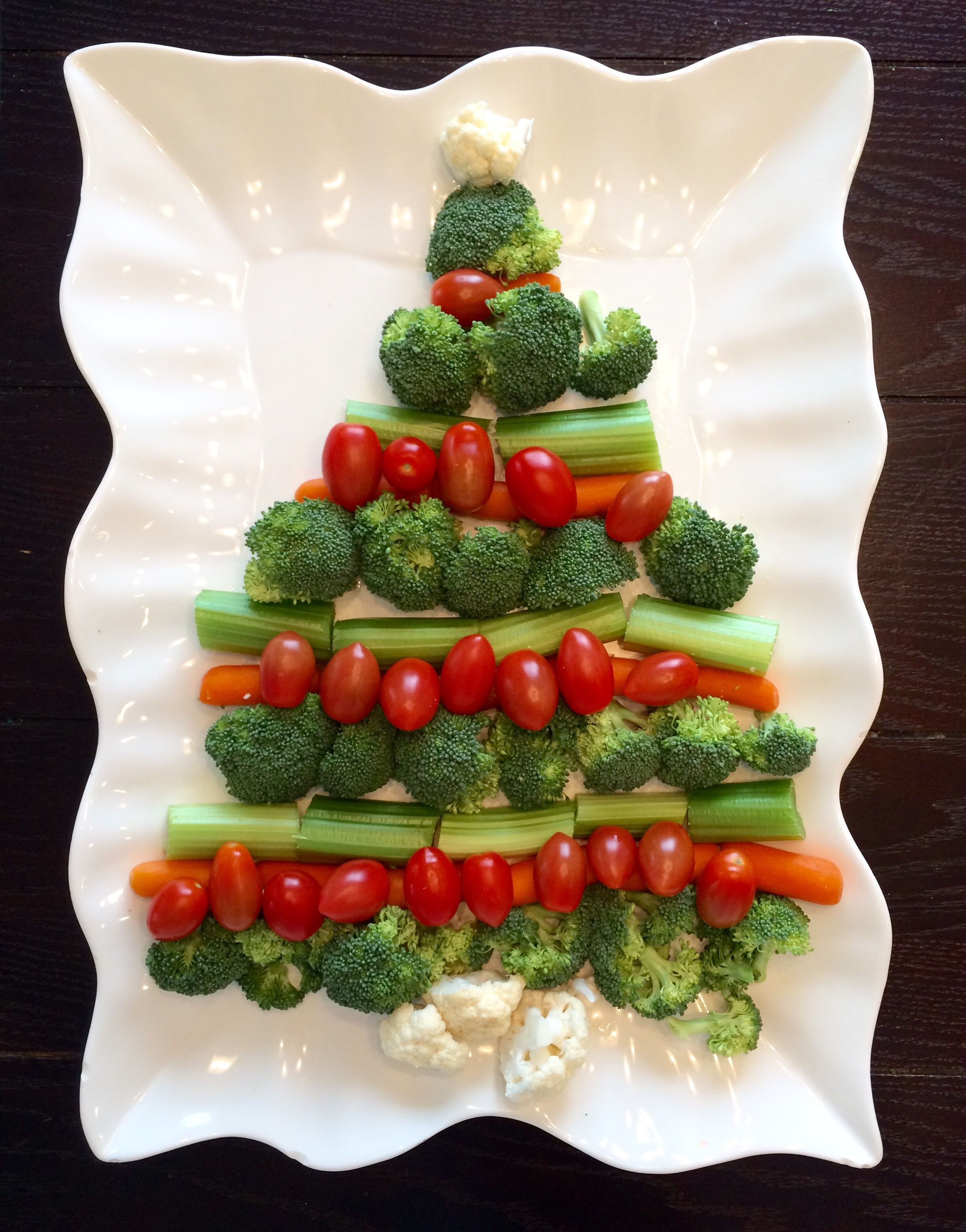 christmas tree veggie tray lou lou girls christmas side dish easy side dish holiday food ideas tips vegetables kids fun food - Christmas Side Dishes Pinterest