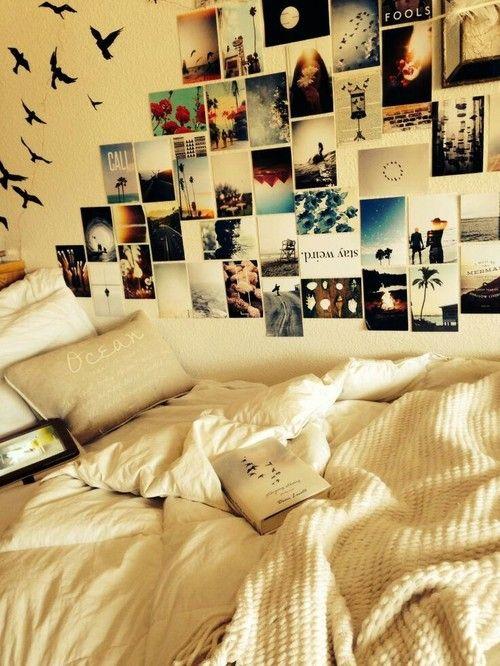 Room Bedroom Inspiration Wall Diy Posters Photos Decor Polaroids