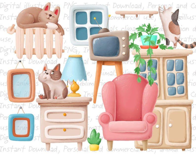 20+ Tree Animal Home Clipart