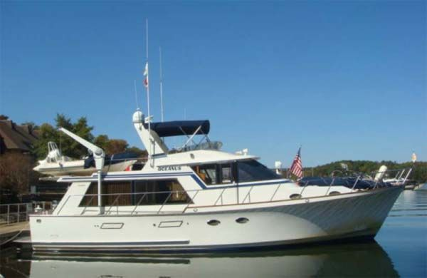 50 Ocean Alexander Trawler For Sale From Curtis Stokes