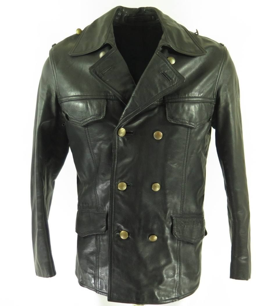 Lt P Gt This Is An Amazing Example Of Vintage 60s German Police Leather Wear It Is An Incredibly Rare Designer Jackets For Men Police Jacket Revival Clothing [ 1052 x 960 Pixel ]