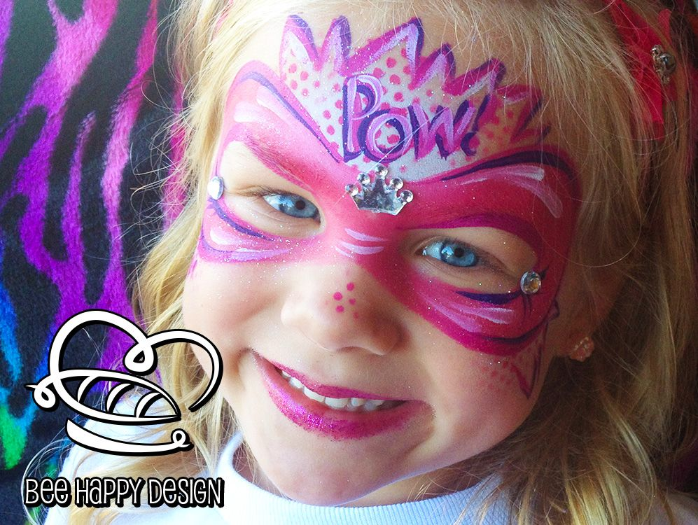 Image result for party paint posts wolverine face painting