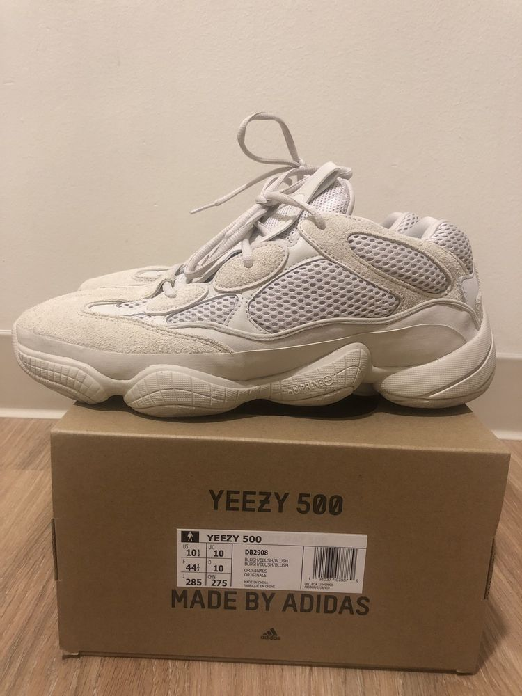hot sale online ca7ce 80b31 Yeezy 500 Blush Size 10.5 Adidas #fashion #clothing #shoes ...