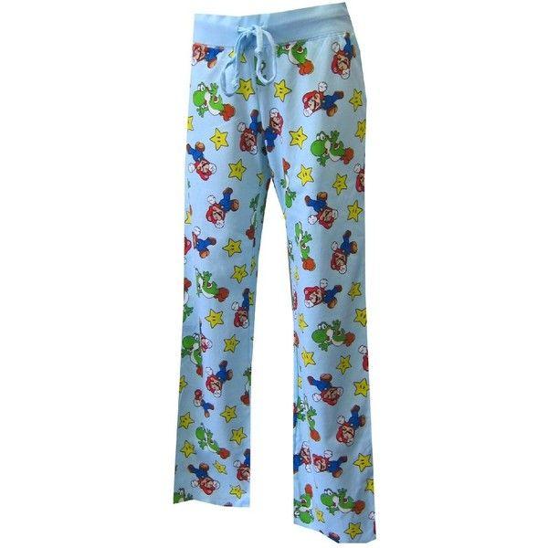 Nintendo Mario and Yoshi BFF Lounge Pants for women ($19) ❤ liked ...