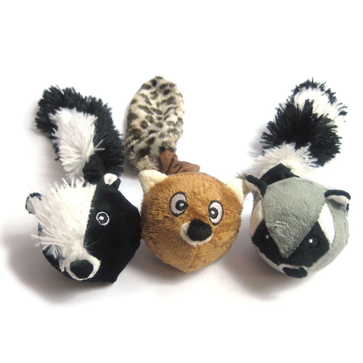 Skinneeez Animal Ball Plush Animals Animals Dog Toys