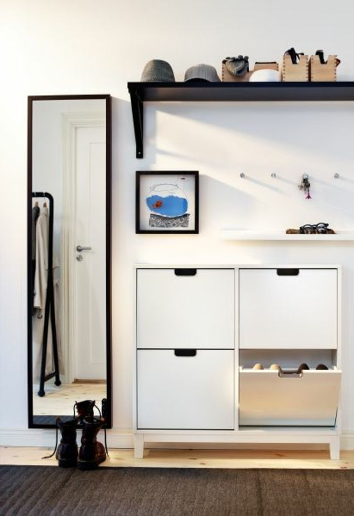 Decouvrir Les Meubles A Chaussures En 50 Photos Meuble Entree Deco Entree Maison Meuble Couloir