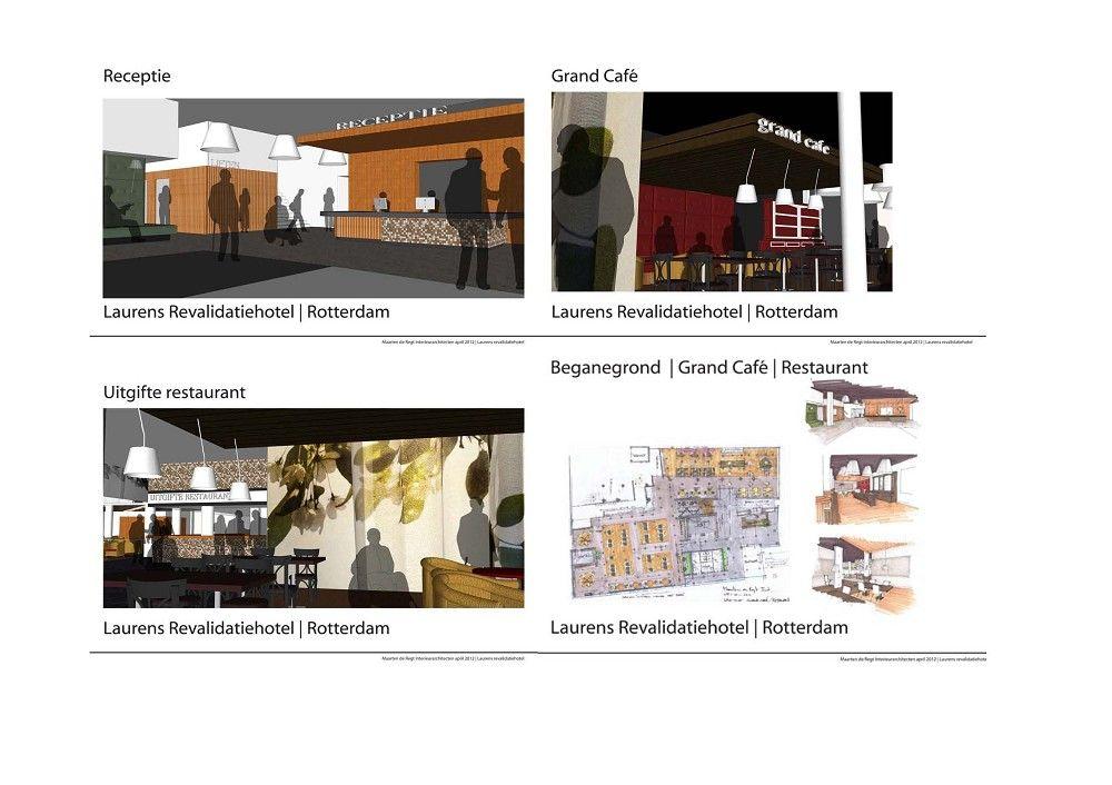 Impressies interieur Laurens Revalidatiehotel (Motorstraat, Rotterdam-Zuid)