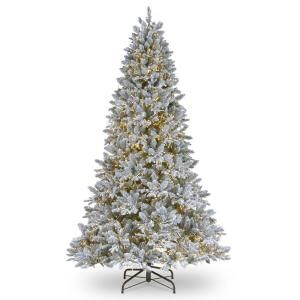 921 This Iceland Fir Tree Features The Powerconnect Through The Pole Lighting System Tha Fir Christmas Tree Pre Lit Christmas Tree Artificial Christmas Tree