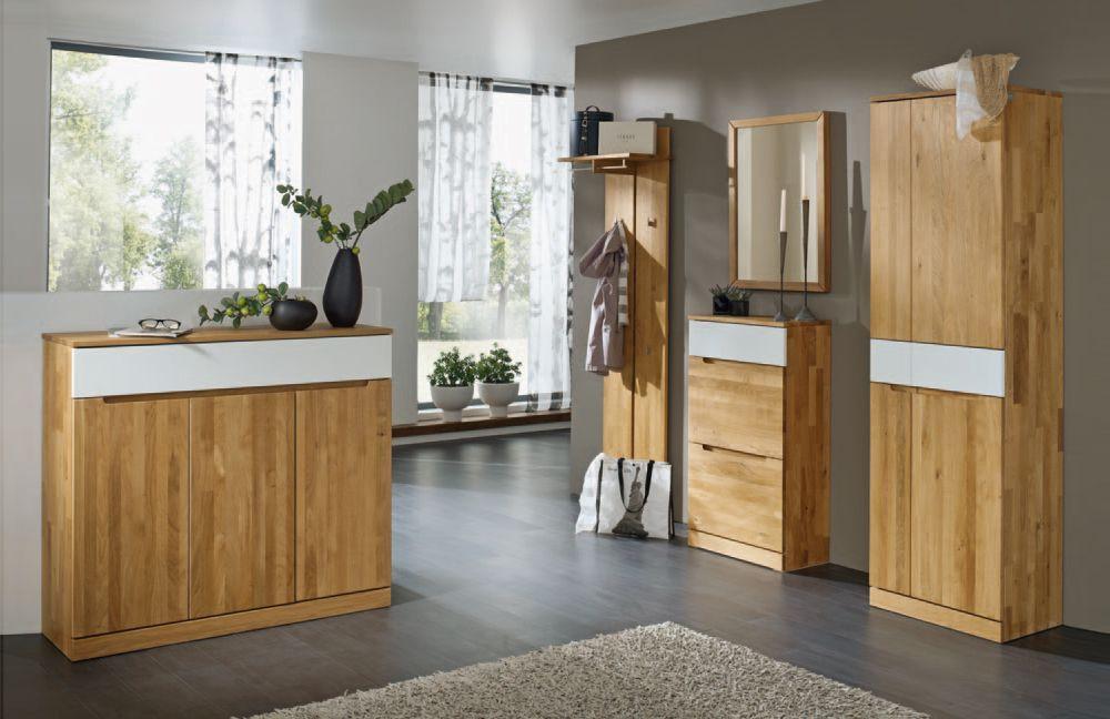 Gradel Arcona Garderobenprogramm Garderobe Flur Diele Holz Buche Eiche Natur Mobel Mit Www Moebelmit De Eiche Wildeiche Massiv Wohnung