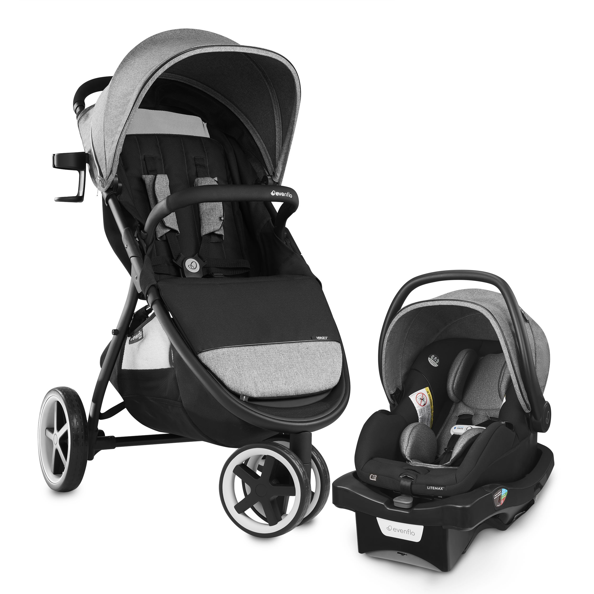 Busy days with kids demand a stroller that's easy to