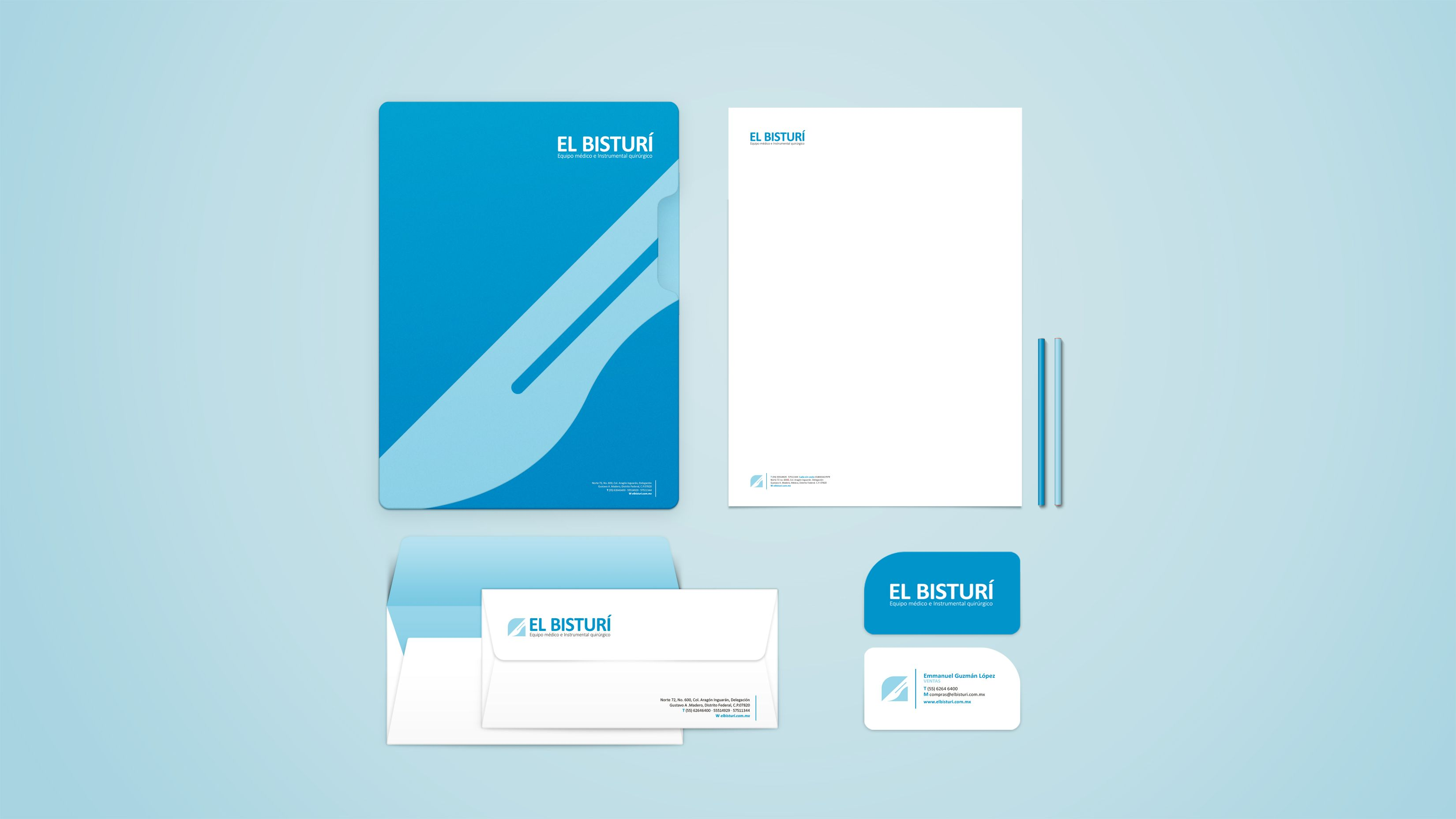 Stationary for a Medical Supplies & Equipment Company. Branding ...