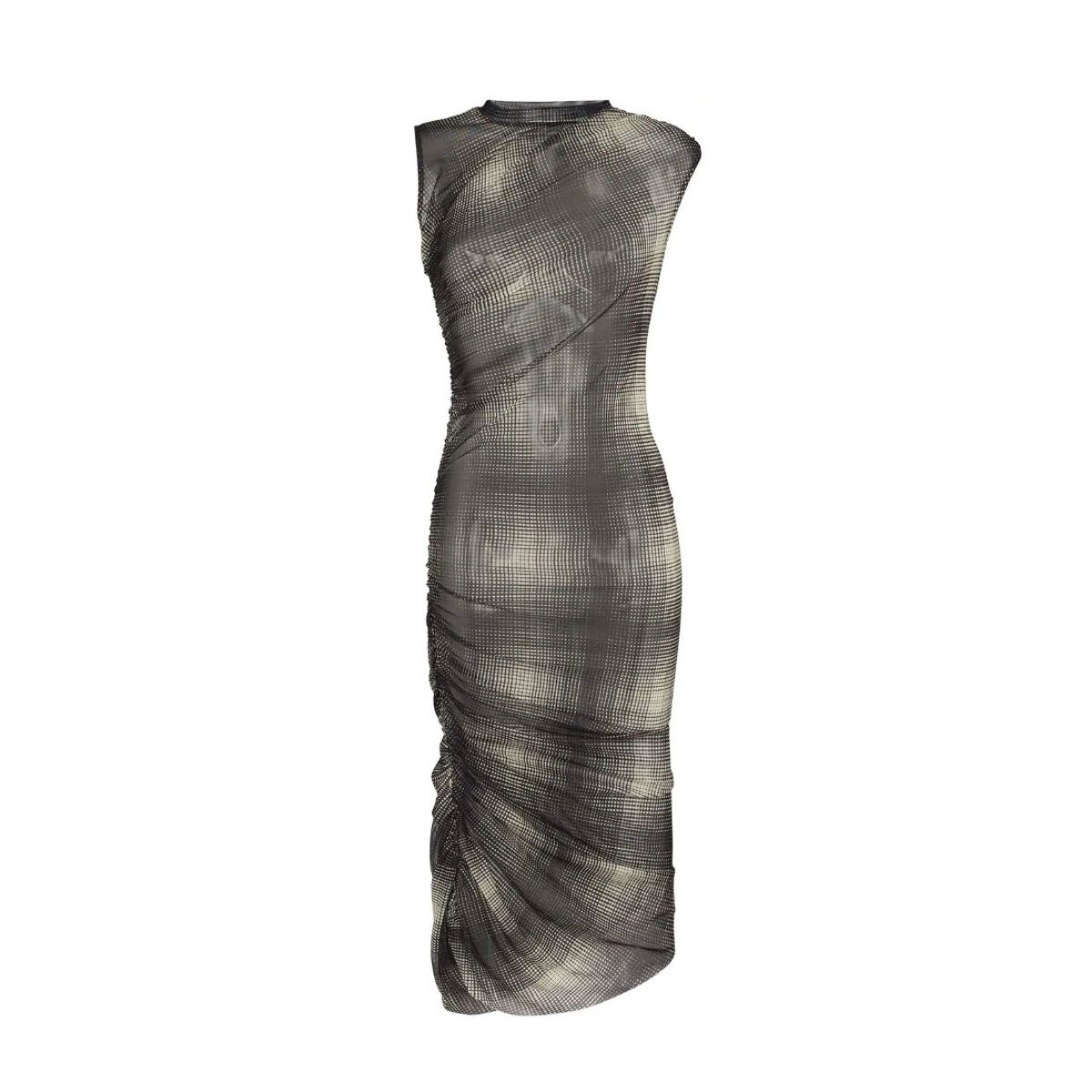 Here S Where You Can Grab Justine Skye S Adorable Midi Dress Hat Fashion Photography Midi Dress Fashion