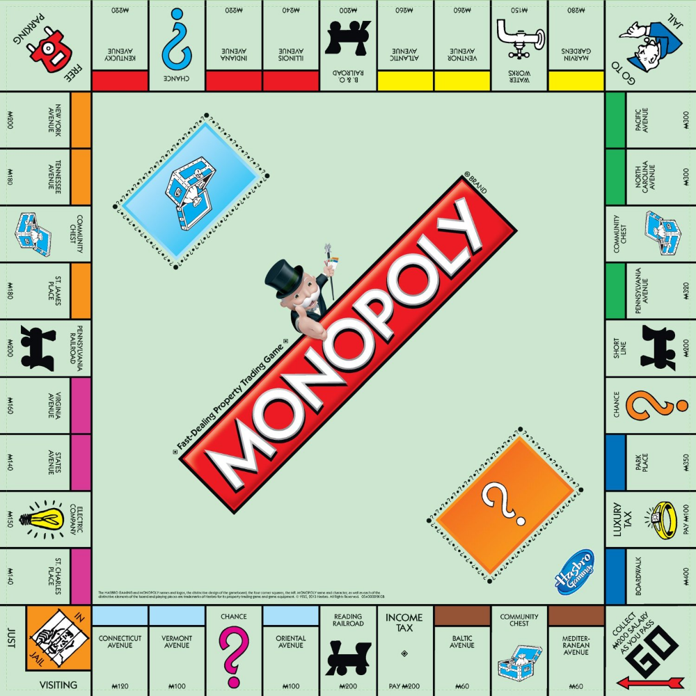 Online Deals 7 77 Monopoly Board Game With Free Shiping Coupon Wahm Monopoly Game Monopoly Board Monopoly Cards