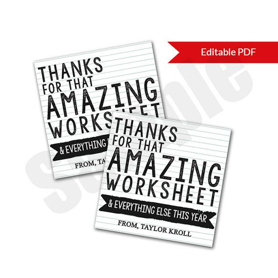 picture regarding Teacher Appreciation Card Printable titled Higher University Trainer Appreciation Card Tag Editable PDF