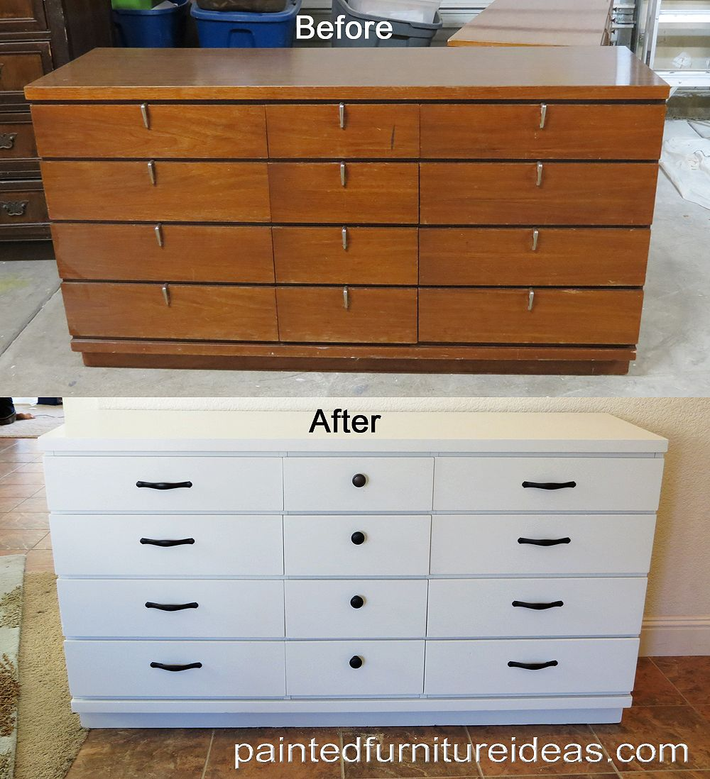 Best 12 Drawer Dresser Painted White Painted Furniture White 400 x 300