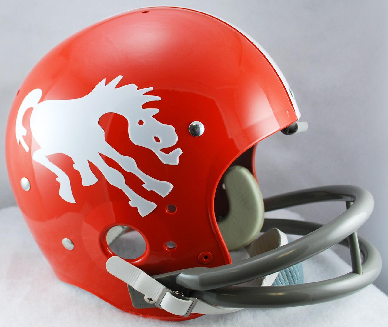 Image result for Denver Broncos 1962 helmets