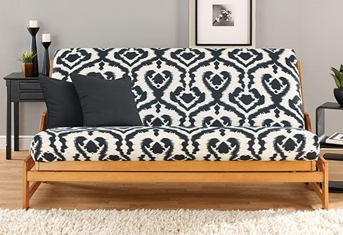 Add A Fun Element Of Design To Any Setting Ikat Futon Cover Easy On And Off With Zipper Back Closure