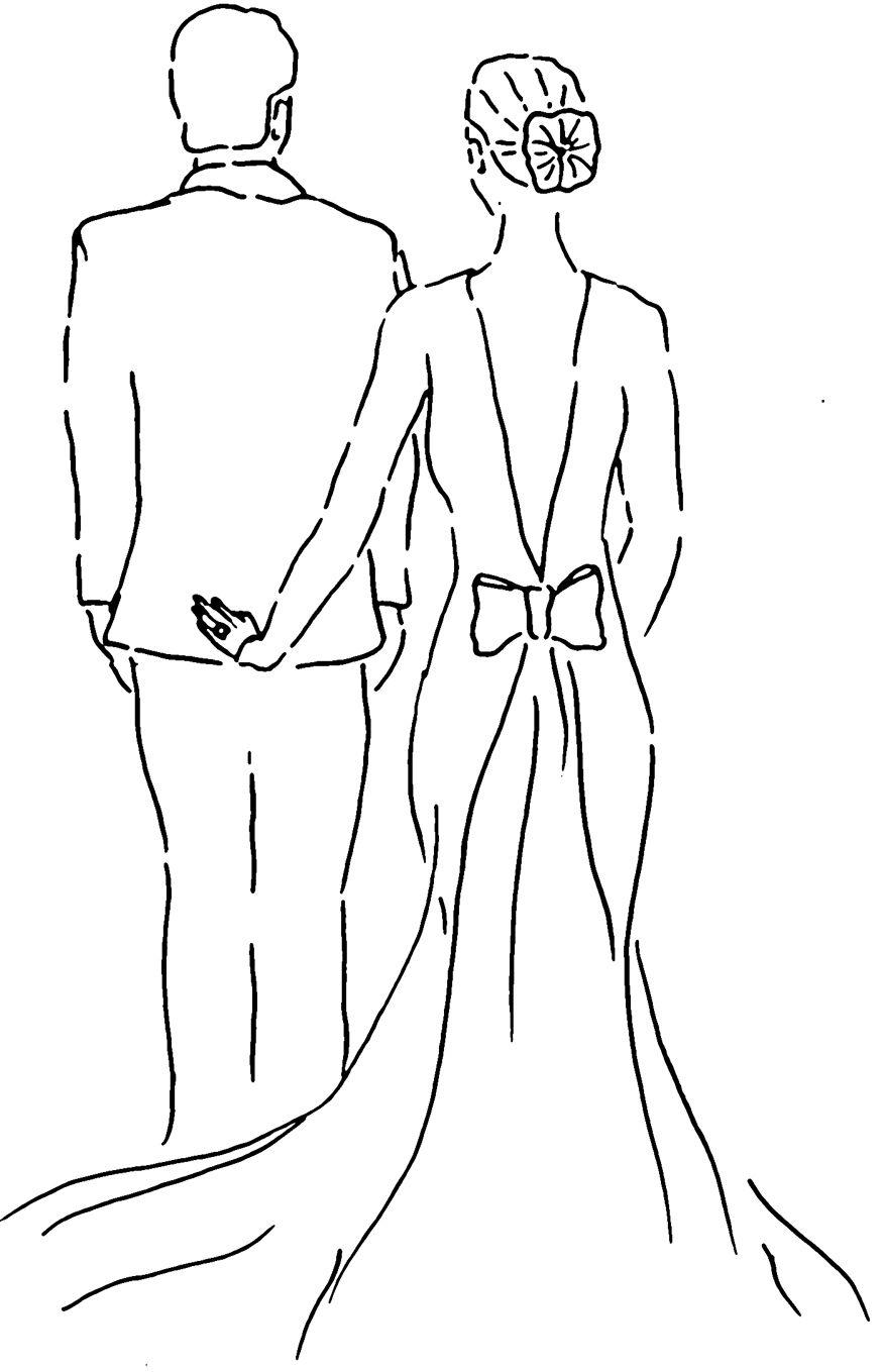 Couple Bruiloft Huwelijk Thema Bruiloften