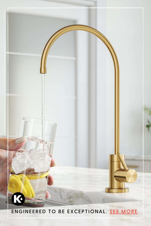 High Value Kitchen And Bathroom Upgrades Kraus Usa In 2020 Faucet Gold Faucet Bathroom Upgrades
