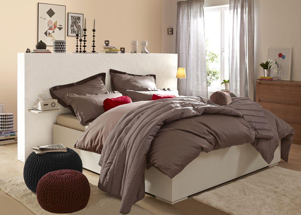 Veredelt das #Schlafzimmer #Satin-Bettwäsche mit seidigem Glanz - tipps schlafzimmer bettwaesche