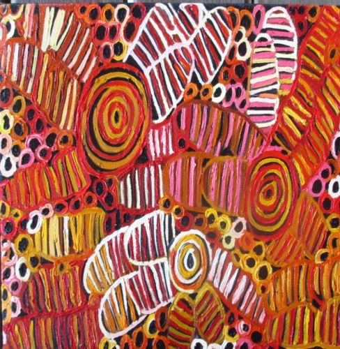 Aboriginal ART Painting Print Large Print Wall ART 50cm | eBay