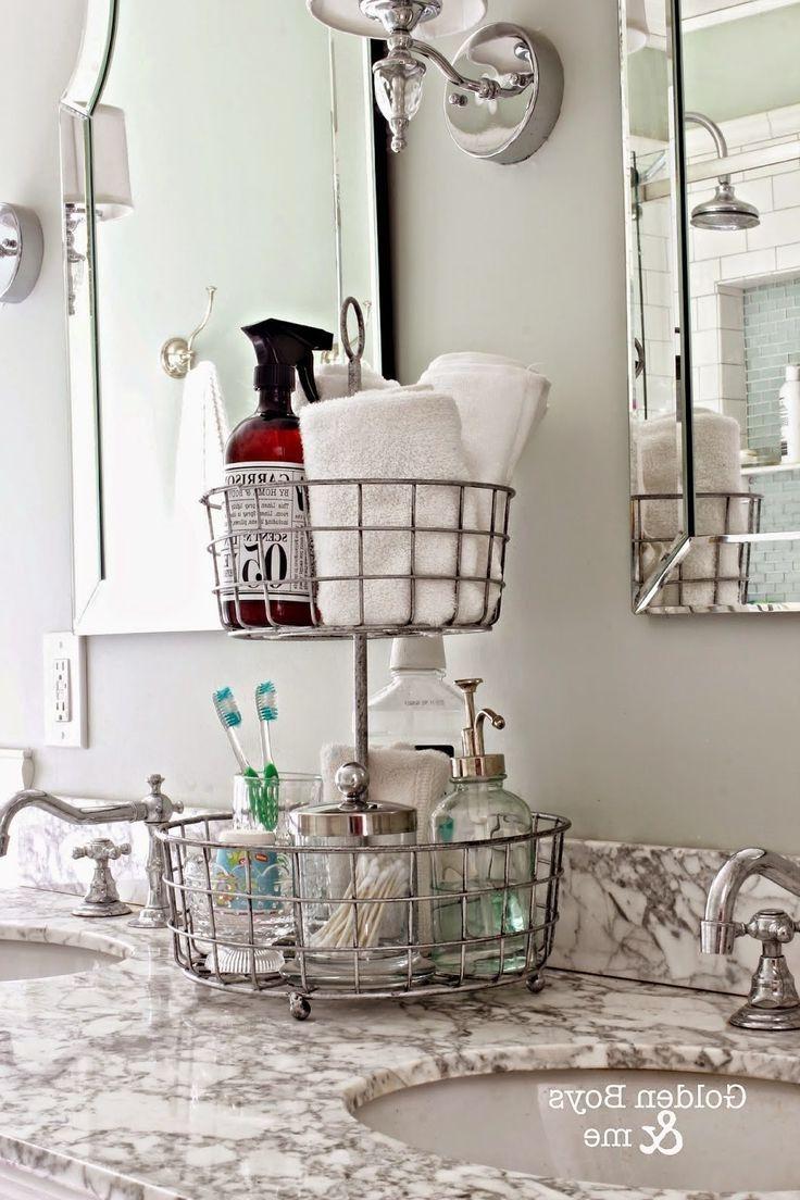 Astonishing Bathroom Counter Organizer