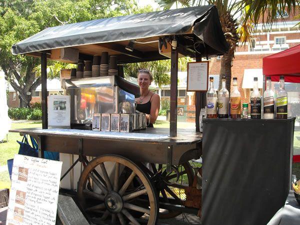 17498da3440 Portable coffee stall | Market Stalls | Mobile cafe, Coffee carts ...