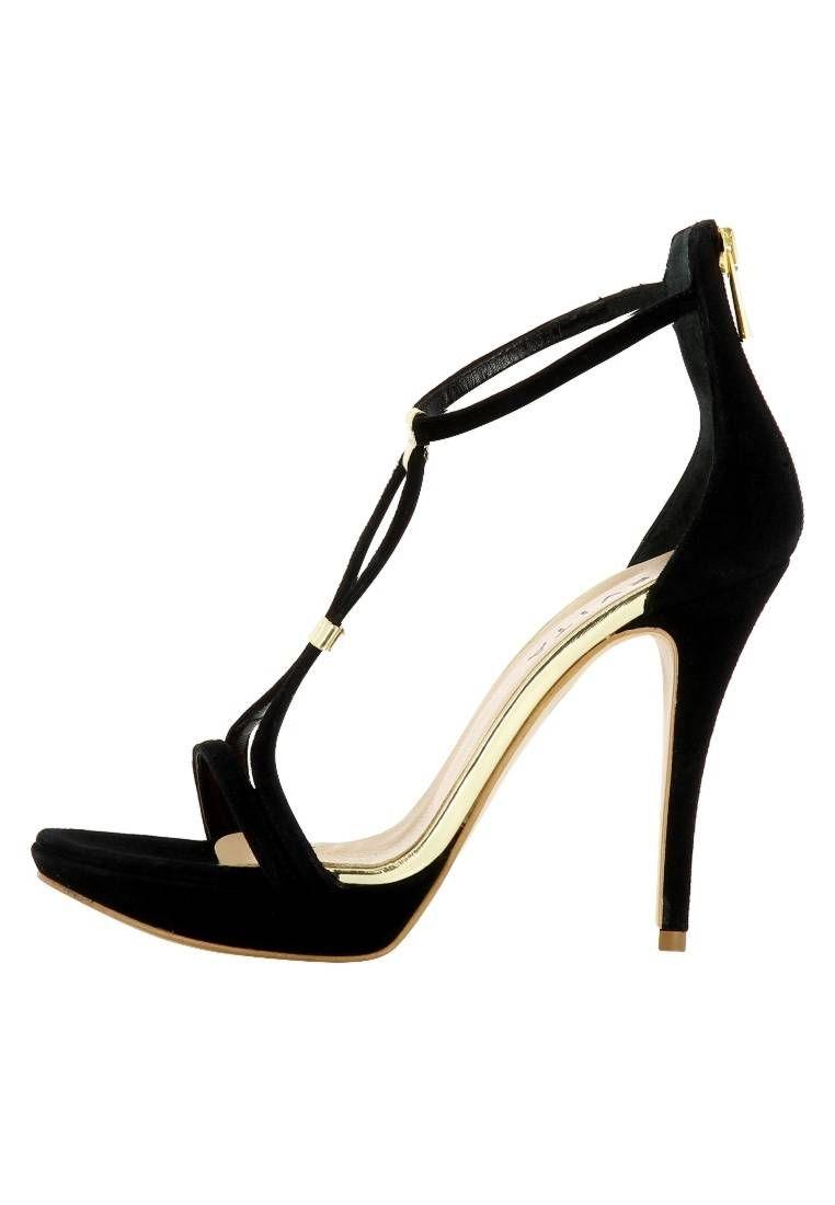 bbb75ea7ffc118 Evita. VALERIA - High Heel Sandaletten - black. Sohle abriebfester Thunit.  Decksohle
