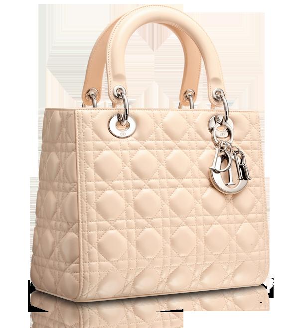a7faf263396 LADY DIOR - Pinky beige 'Lady Dior' bag | wishes | Lady dior, Dior ...