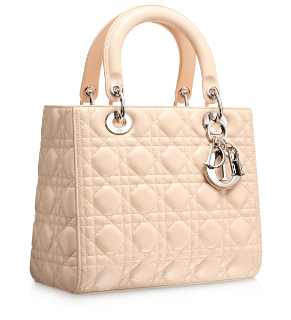 30a2e194b52b LADY DIOR - Pinky beige  Lady Dior  bag