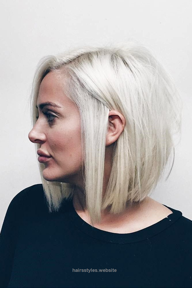 Cool Blonde Short Hairstyles for Round Faces ★ See more ...