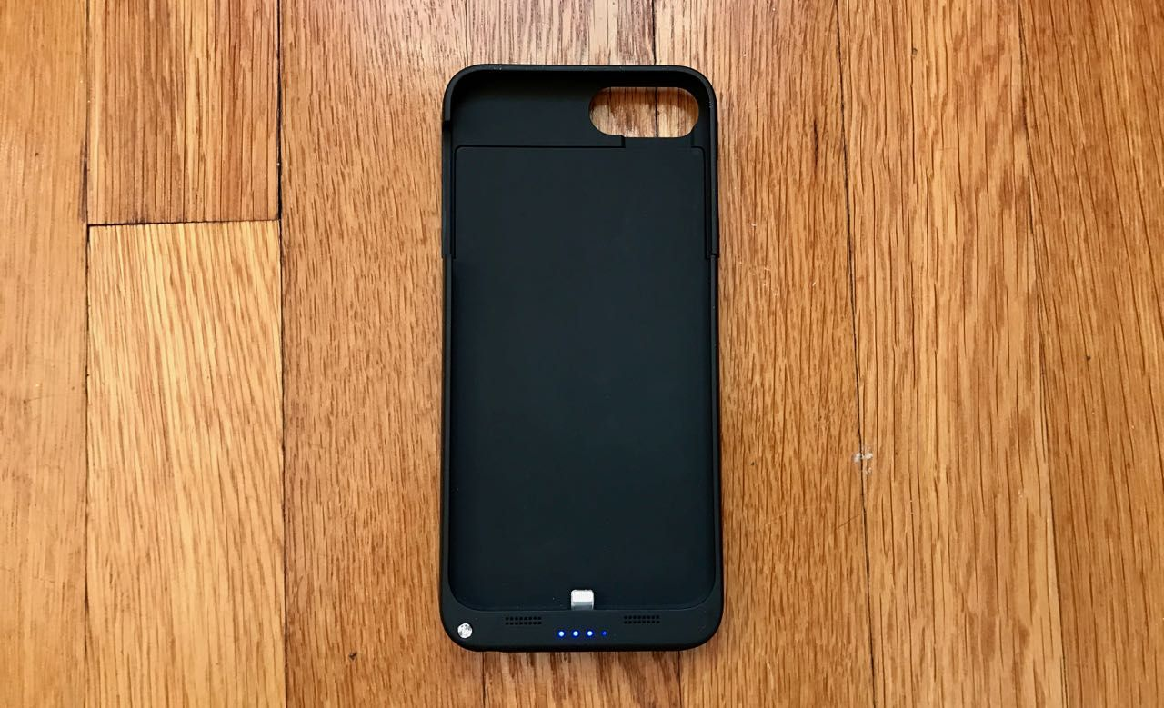 huge discount 374ed 0cc09 Review: Savfy iPhone 7 Plus battery case double your battery power ...