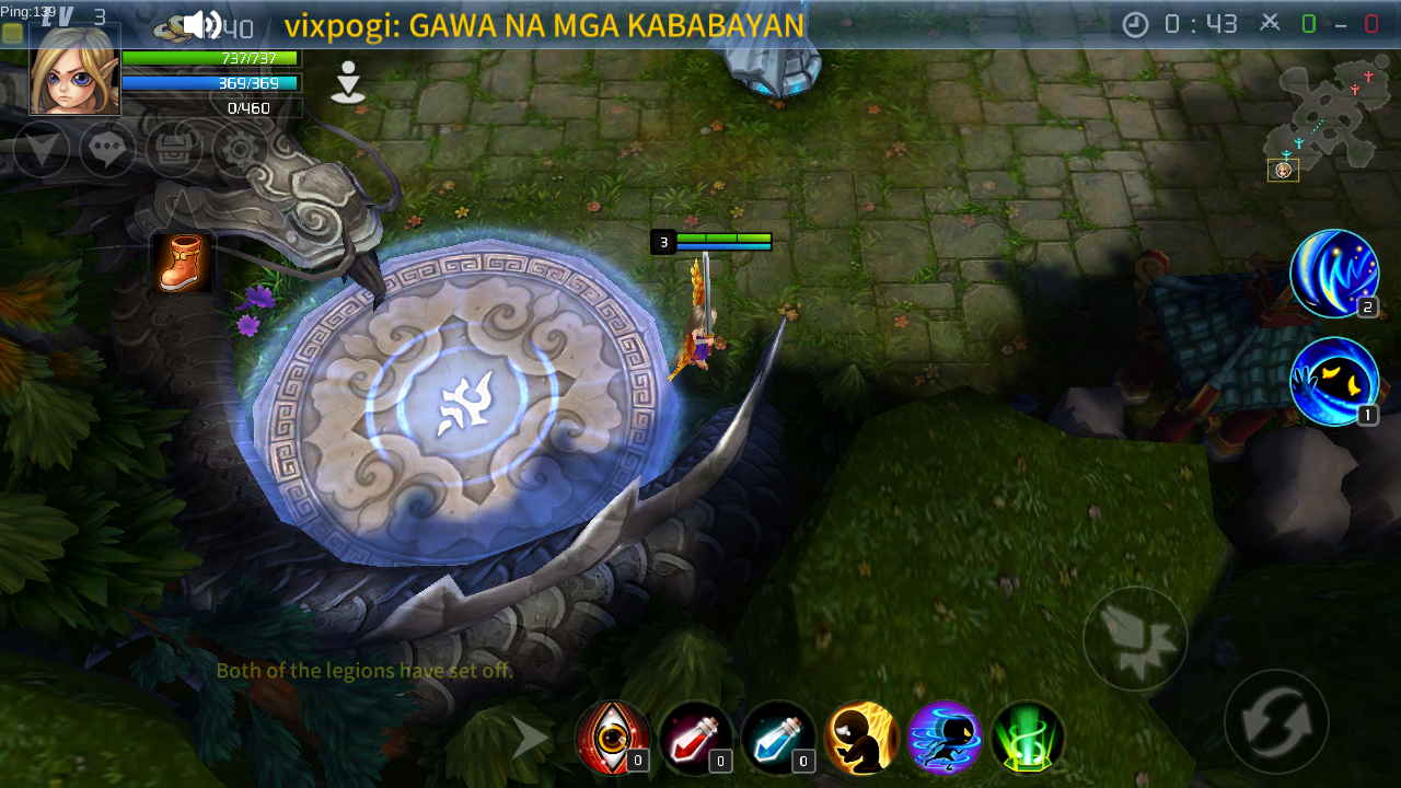 Destiny Of Thrones (The Dota in Mobile) Heroes are not