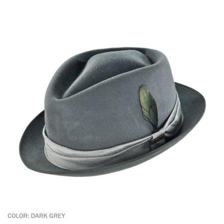 1e7005d8b89 Diamond Fur Felt Stingy Brim Fedora Hat available at  Brighton ...