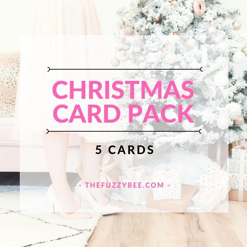 Christmas Card Pack / 5 Christmas Cards
