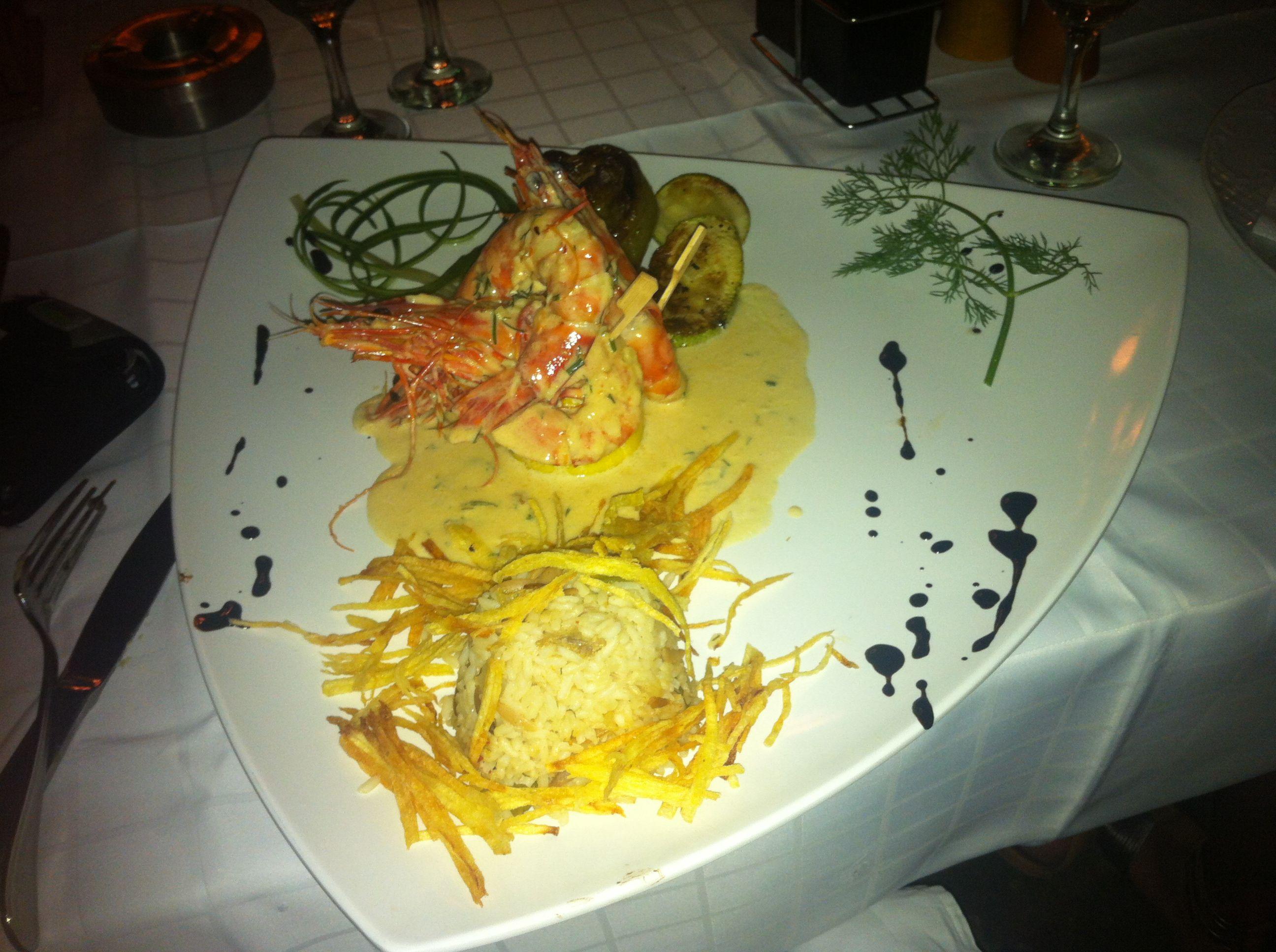 Best shrimp ever. Rhodos, Greece