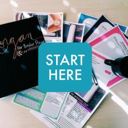 #TheBinderProject: Start Here