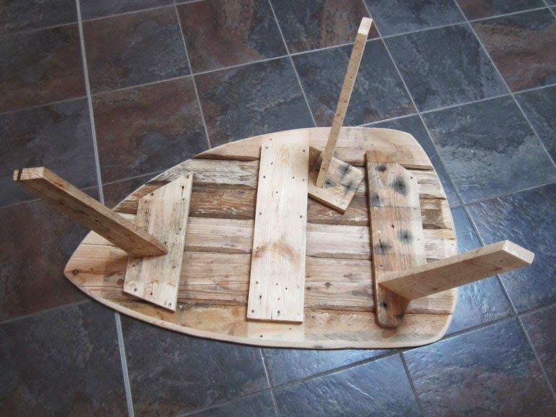 Table basse palette esprit scandinave | Pallets | Pinterest ...