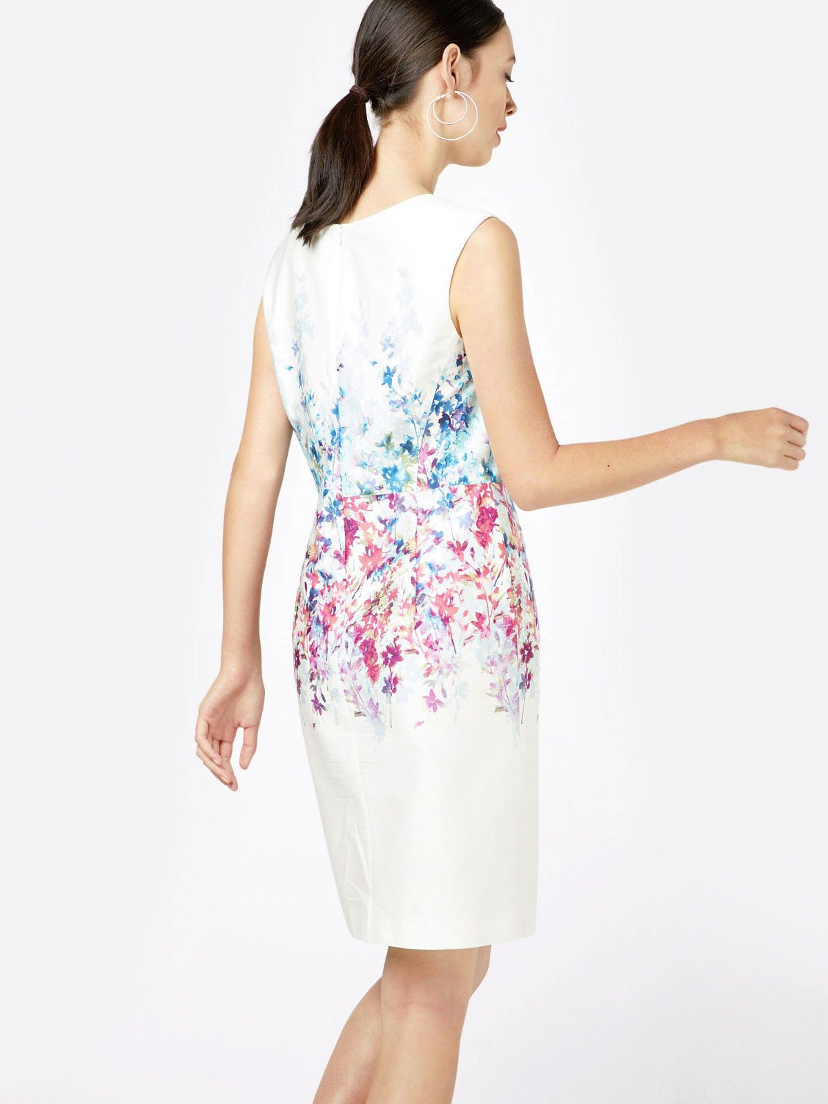 Esprit #Etuikleid #Sommerkleid weiss #Neu Gr.#11  #eBay
