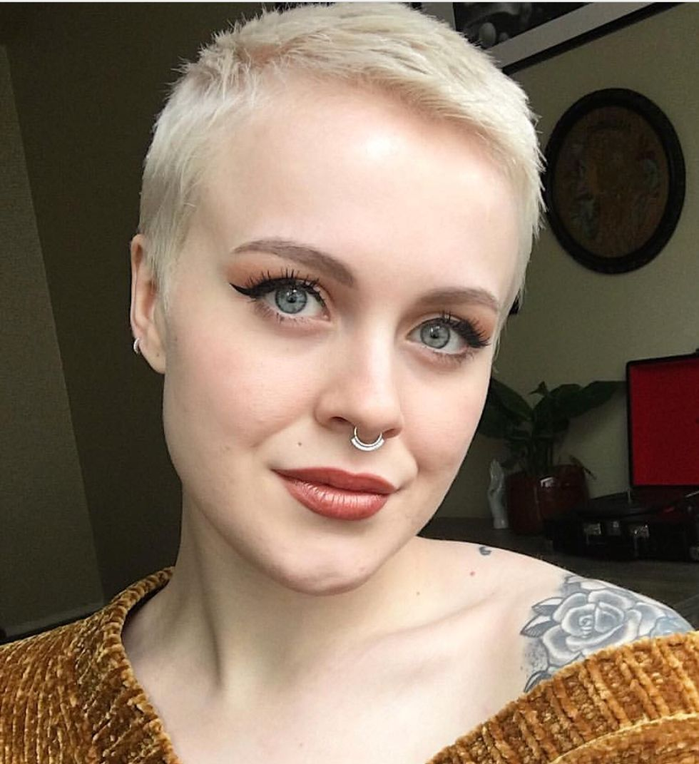 Pin By Amy Frick Rearick On Hair In 2019 Short Buzzed