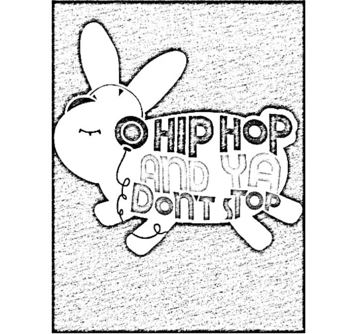 Hip Hop And Ya Don T Stop Hip Hop Coloring Book Compiled By Jamee
