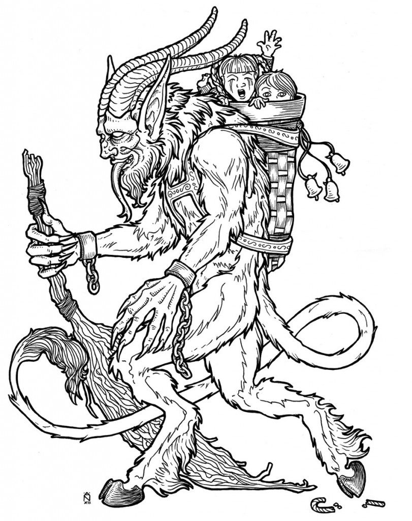 Krampus is Coming to Town | Pinterest