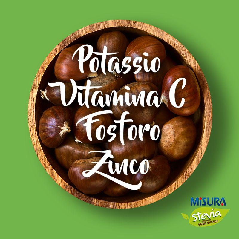 Novembre è il mese delle castagne: antiossidanti, rinvigorenti, multi-vitaminiche. #sweetips