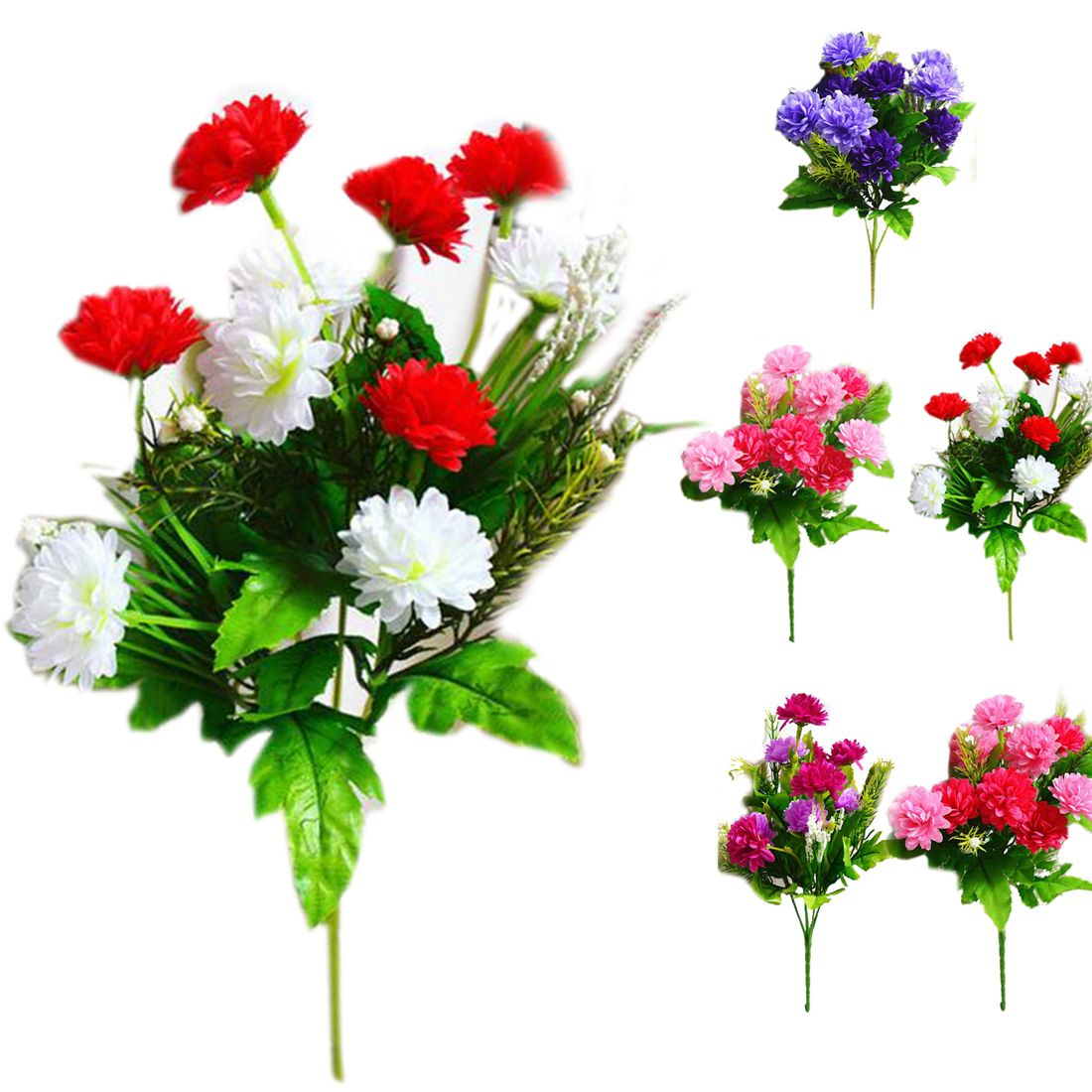 Click to buy fashion artificial carnations flowers 5 branches 10 click to buy fashion artificial carnations flowers 5 branches 10 flowers bouquet izmirmasajfo