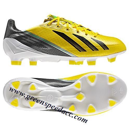 sin embargo Rebelión Disfraces  Adidas F50 AdiZero TRX III - Yellow-Black green