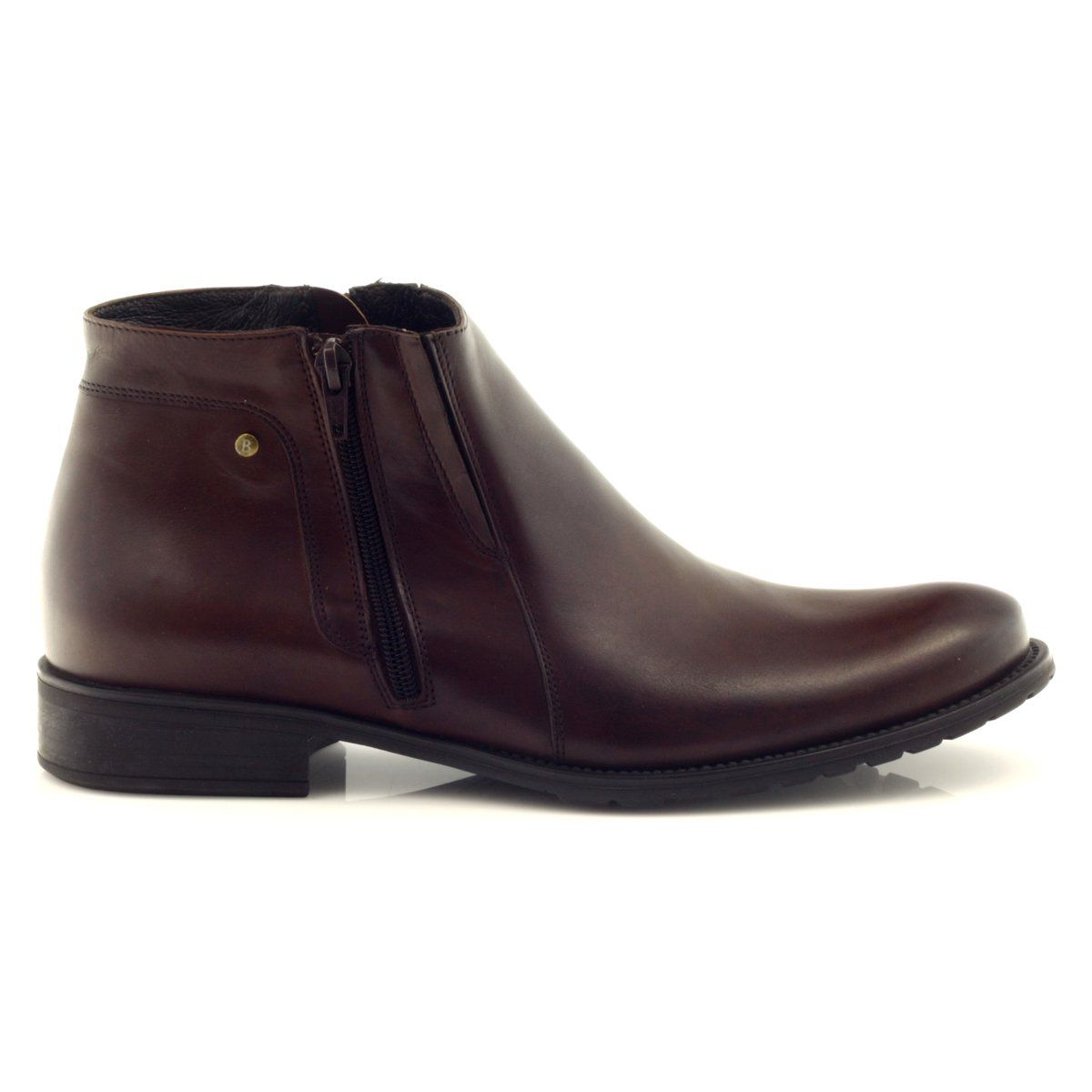 Botki Meskie Zimowe Badura 5108 Brazowe Mens Winter Boots Boots Winter Boots