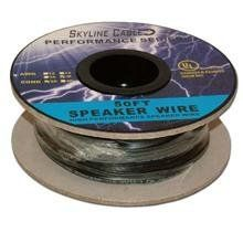 100ft 18 Gauge 4 Wire Speaker Cable, Paper Spool, Cl2 Ul - White by Skyline. $24.99. SKL2502W 18ga 4-wire Speaker Cable, CL2 UL, 100ft on a sturdy paper spool