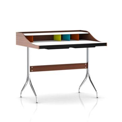 herman miller office desk. nelson swag leg desk - home office desks \u0026 tables herman miller official store