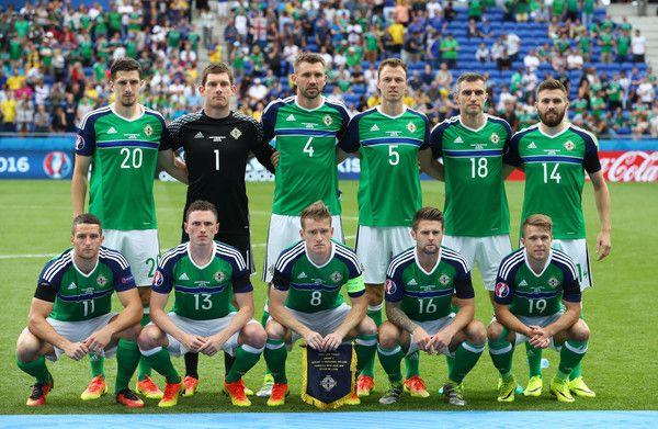 People Photos Uefa Euro 2016 Team Photos Northern Ireland